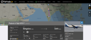 IndiGo flight 6E2017 from Bengaluru to Delhi diverted to Bhopal due to a medical emergency