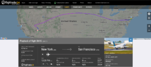 JetBlue flight B615 from New York to San Francisco diverted to Las Vegas due to medical emergency