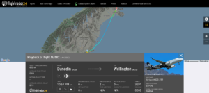 Air New Zealand flight NZ682 from Dunedin to Wellington diverted to Christchurch due to technical issue