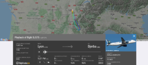 Nouvelair flight BJ575 from Lyon to Djerba returned to Lyon due to pressurisation issue